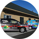 Fleet of Service and Delivery Vehicles in San Jose and Sacramento Location